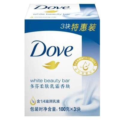 凑单品:Dove 多芬 柔肤乳霜香块三块装100g*3 12.9元