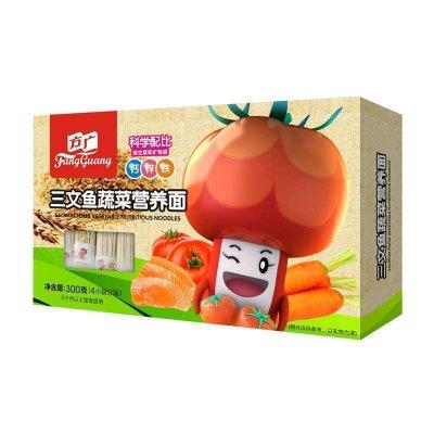 方广宝宝营养面(三文鱼蔬菜)300g