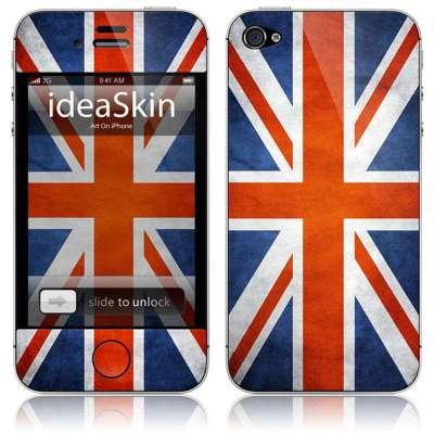 ideaskin艺术贴iphone英国国旗