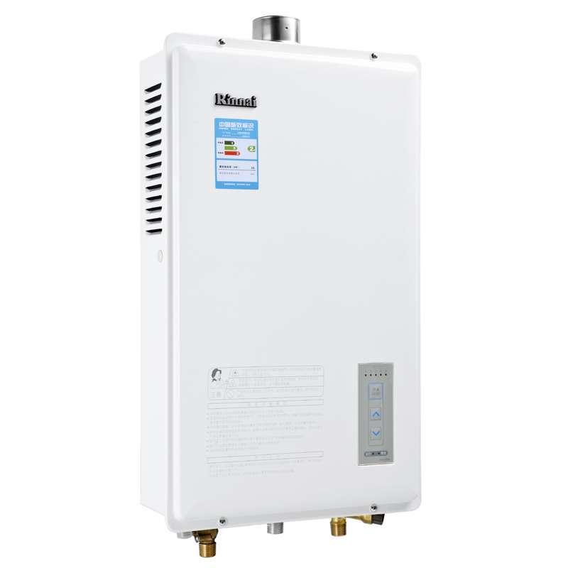 林内(rinnai)燃气热水器 rus-12fen(f) 天然气热水器图片
