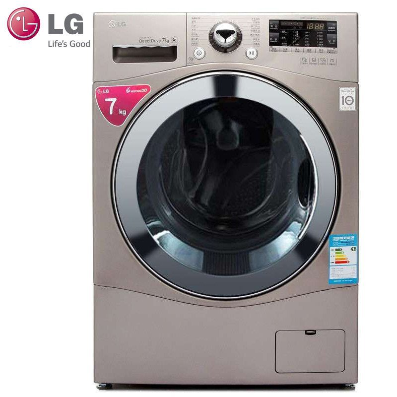 LG WD-H12428D 7公斤 DD变频滚筒洗衣机(白色)