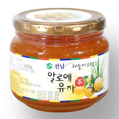全南蜂蜜柚子茶580g韩国进口