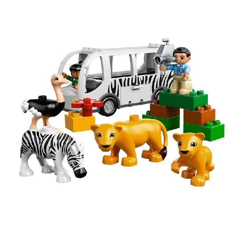 lego乐高动物园巴士l10502
