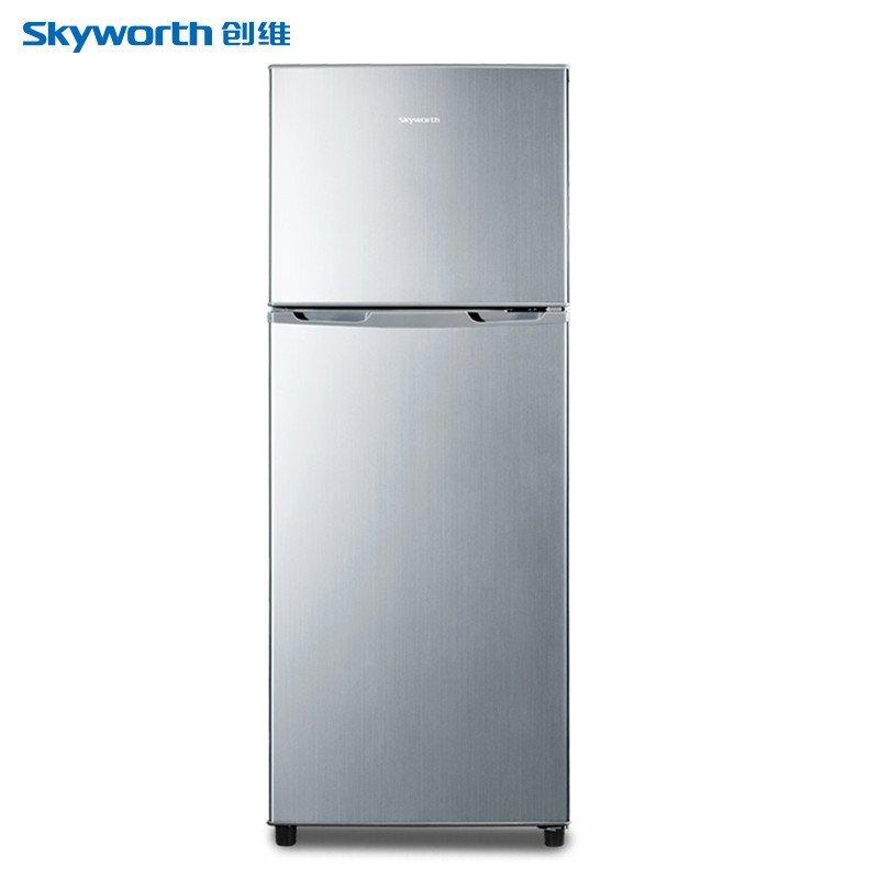 创维(Skyworth) BCD-138 138L 双门冰箱(银色)