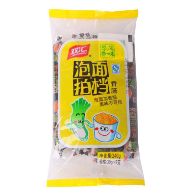 双汇 泡面拍档香肠(葱香风味) 30g*8