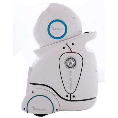 家庭早幼教机器人早教机人机对话陪护伴侣u02绿色