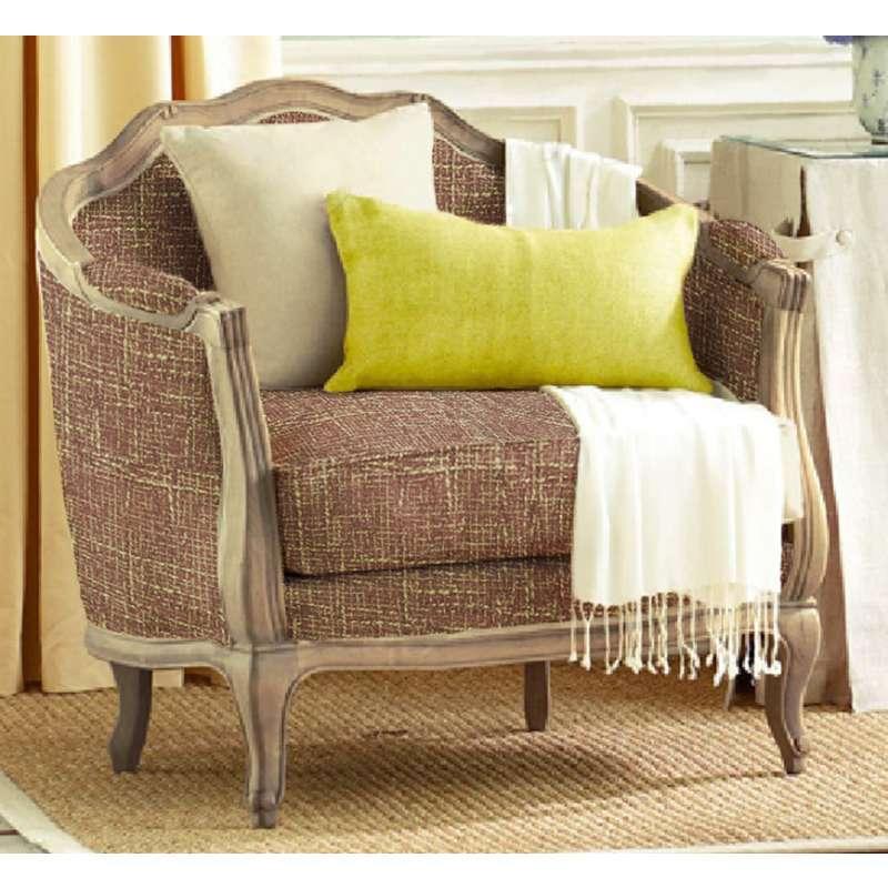 优梵艺术 欧式布艺沙发组合客厅 现代简约实木沙发大小户型 三人沙发
