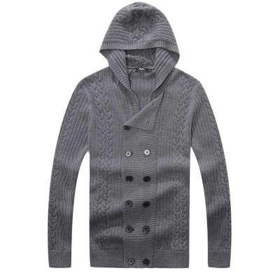 浅灰色毛衣搭配什么颜色的外套