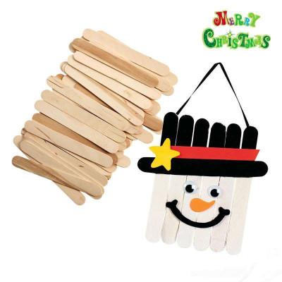 雪糕棒棒冰棍棒动手做 diy手工制作材料玩具100根ex10129
