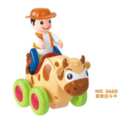 玩具366x婴幼儿滑行玩具摇摆动物秀礼盒(单只装)儿童认知卡通玩具车