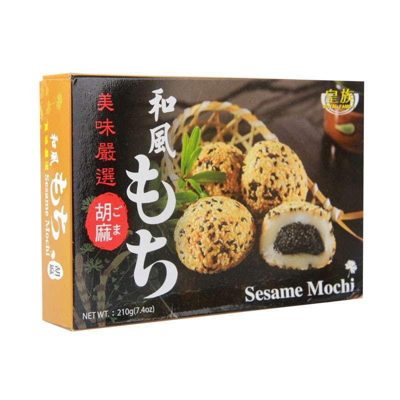 自营【猫诚食品】台湾进口零食品特产 皇族 和风芝麻麻薯 糯米饼 小