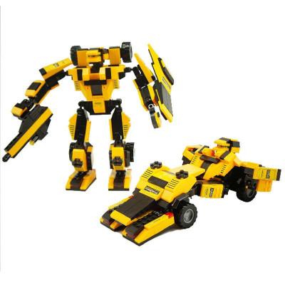 大黄蜂玩具拼装图片