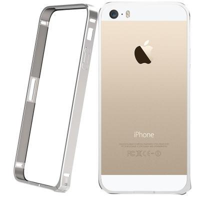 luoya络亚边框iphone5/5s升级版海马扣超薄套子塑料金属/v边框苹果热水瓶保温土豪图片