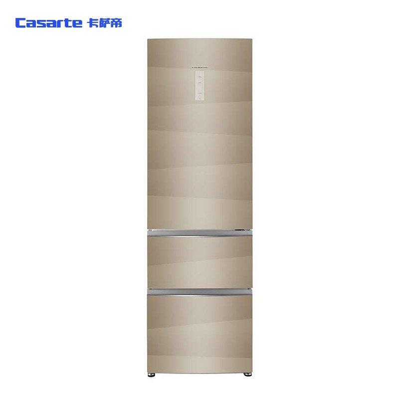 卡萨帝(CASARTE) BCD-346WDCA 346升 三门冰箱(香槟金)