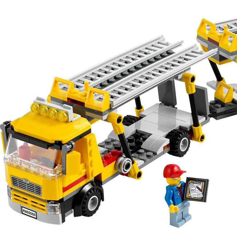 【乐高(lego)拼插积木】lego 乐高 汽车运输车 l60060