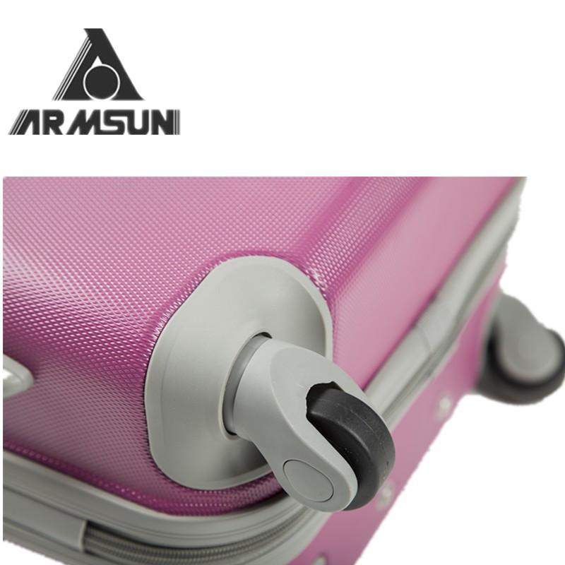 20寸行李箱abs拉杆箱24寸男女万向轮纯色飞机托运箱