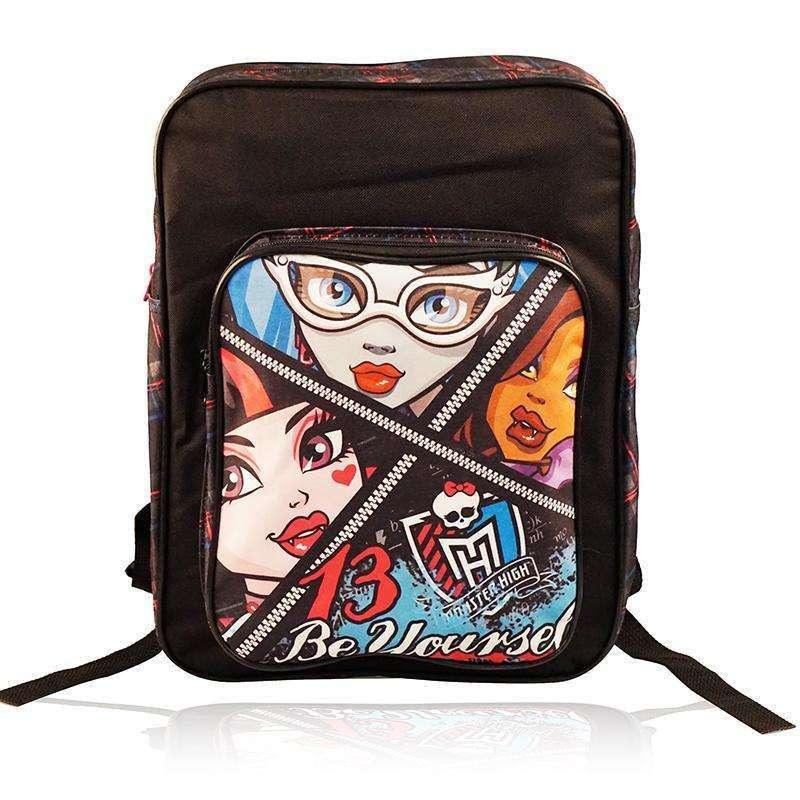 尚奇特双肩包卡通可爱男女童休闲小学生背包 方形包