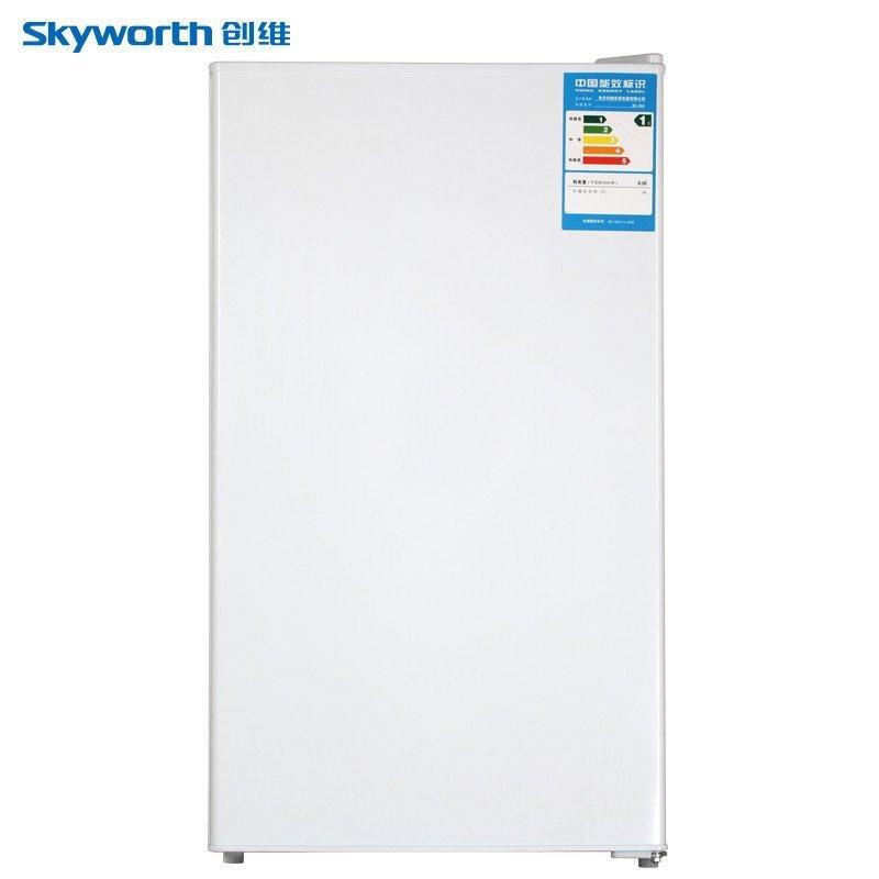 创维(Skyworth) BC-90A 90升 单门冰箱(白)