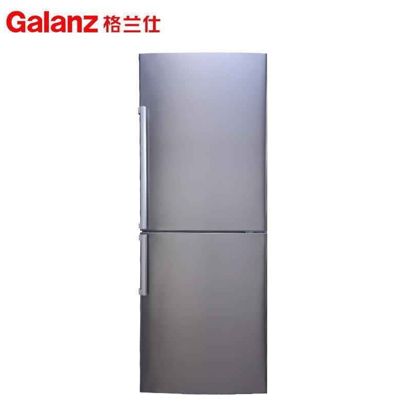 格兰仕(Galanz) BCD-209W 209升 双门冰箱 (不锈钢银灰)