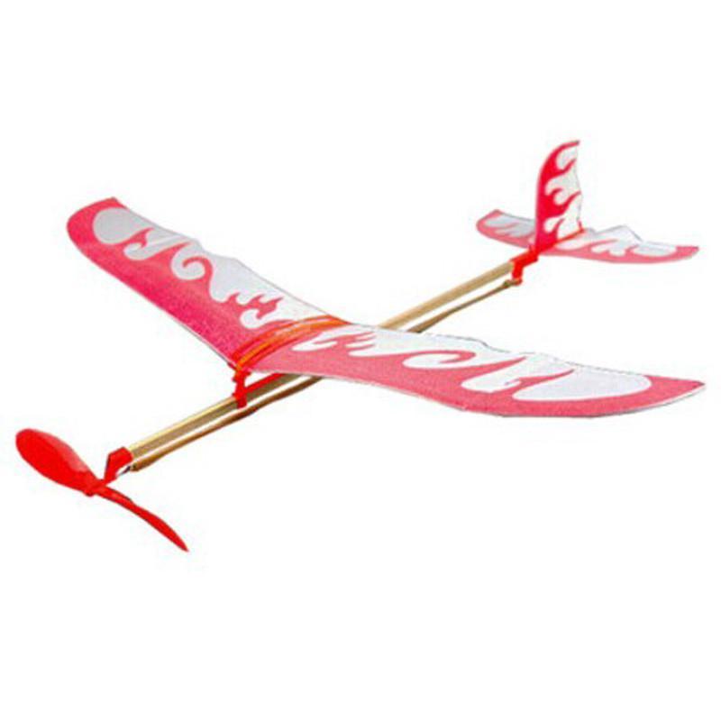 雷鸟橡皮筋动力diy模型飞机 橡皮筋飞机