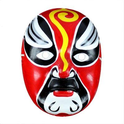 仕彩 手绘面具 纸浆面具 中式面具 变脸专用道具 京剧