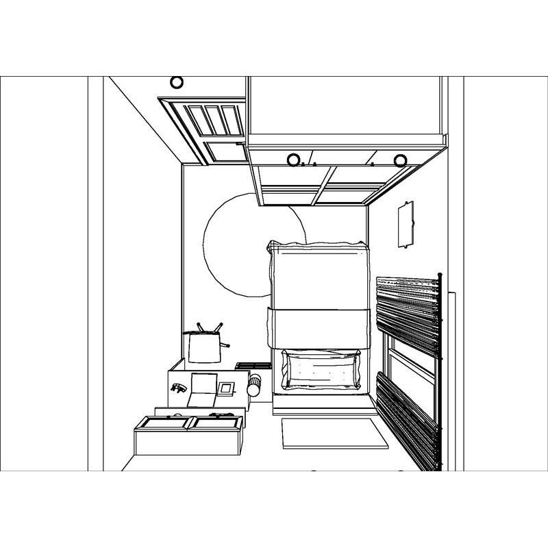 衣柜设计手绘图片
