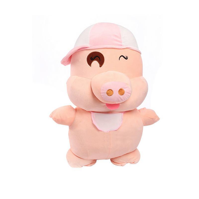 安吉宝贝 可爱麦兜猪公仔大号猪猪玩偶布娃娃毛绒玩具生日礼物 150cm