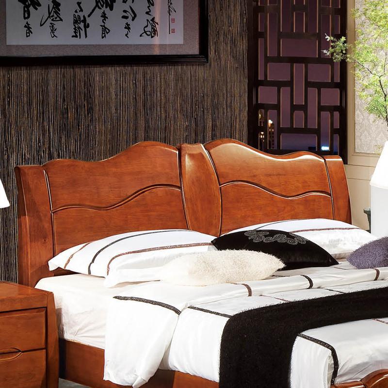 8米实木双人床胡桃木床