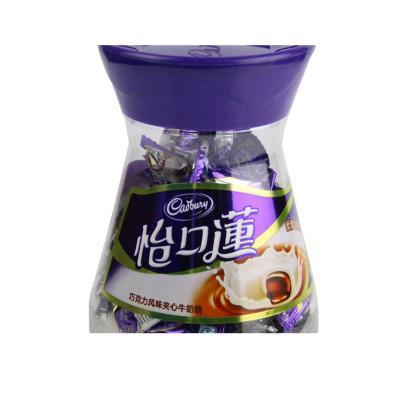 0点预告!怡口莲 巧克力风味夹心牛奶糖 300g/盒(柔滑牛奶) 13.8元 ¥13.80
