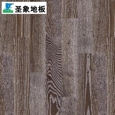 【圣象地板官方旗舰店地板】圣象康逸实木地板三层v5