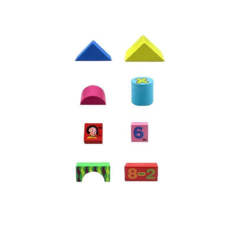 积木木制精品益智玩具积木1-2-3-4-5-6岁儿童积木
