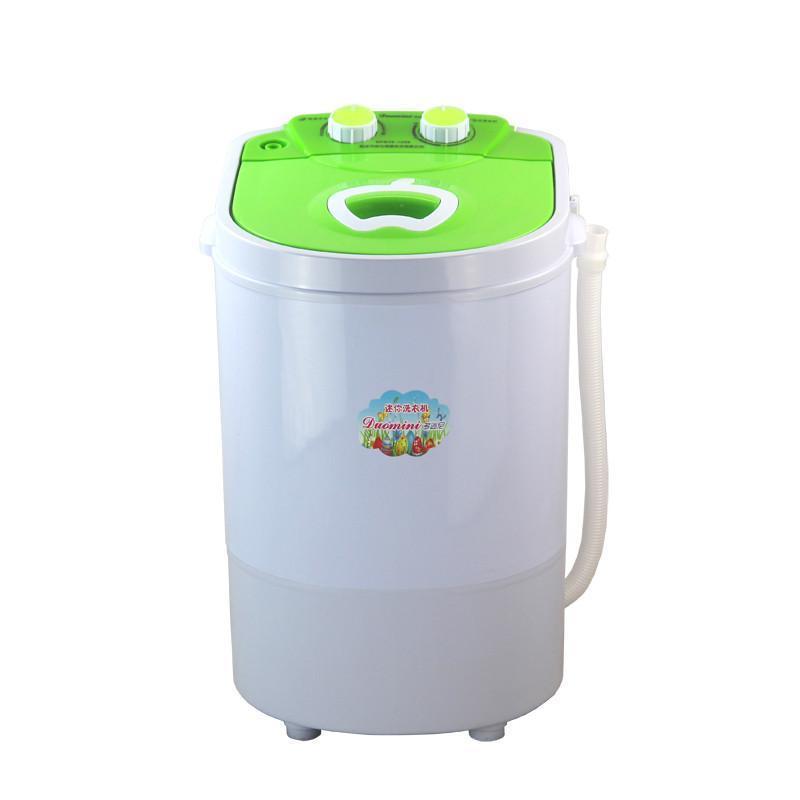多迷尼 36-1208 小型迷你洗衣机 半自动单桶洗衣机