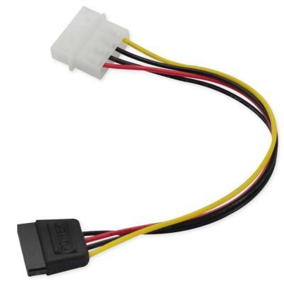 d型4针转sata串口硬盘电源线