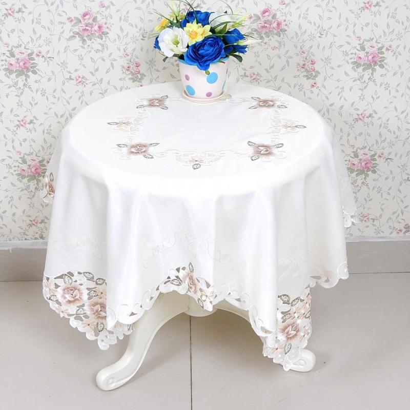 欧式田园布艺桌布茶几餐桌椅套套装坐垫盖巾茶几垫万能小方巾