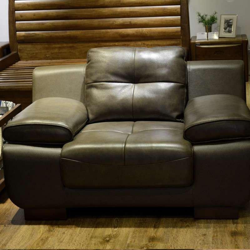 【惠宜沙发】惠宜家居后现代沙发组合客厅真皮沙发头