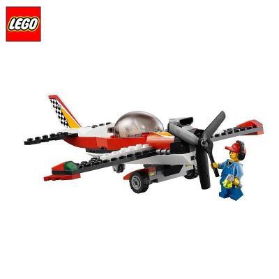 专柜正品logo乐高益智拼插积木玩具特技飞机l60019