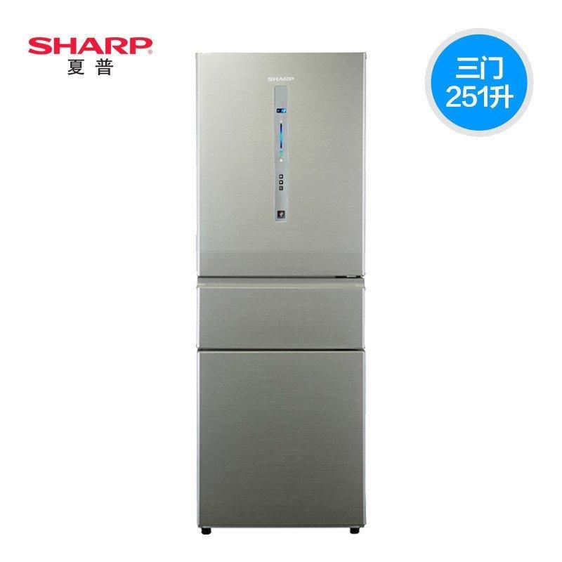 夏普冰箱BCD-251WVP-N