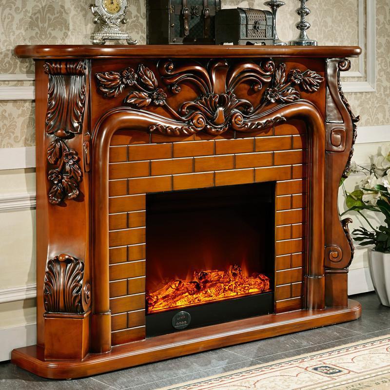2米欧式壁炉装饰柜 美式电视柜