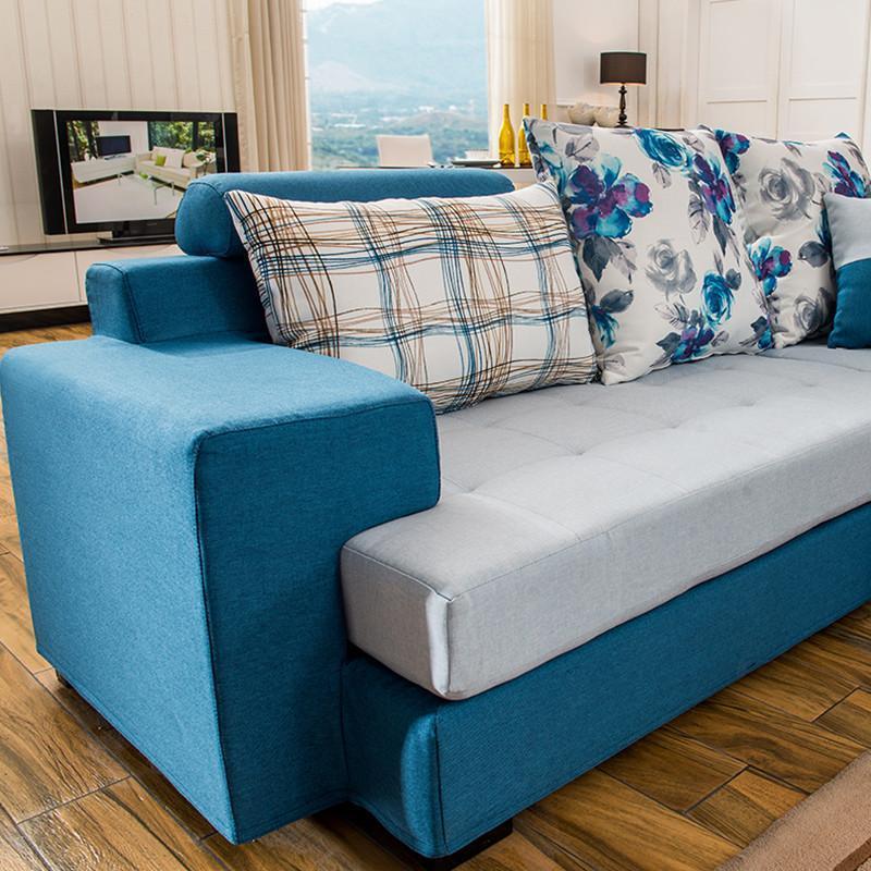 kay时代 布艺沙发 小户型客厅沙发组合 1182