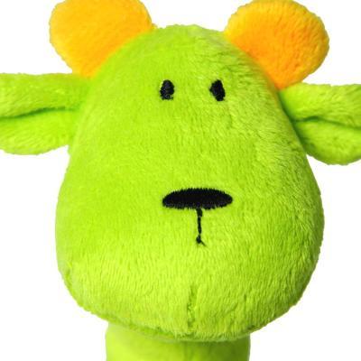 哈喜屋儿童拖拉玩具狮子动物拉车玩具 宝宝玩具1-3 周岁礼物