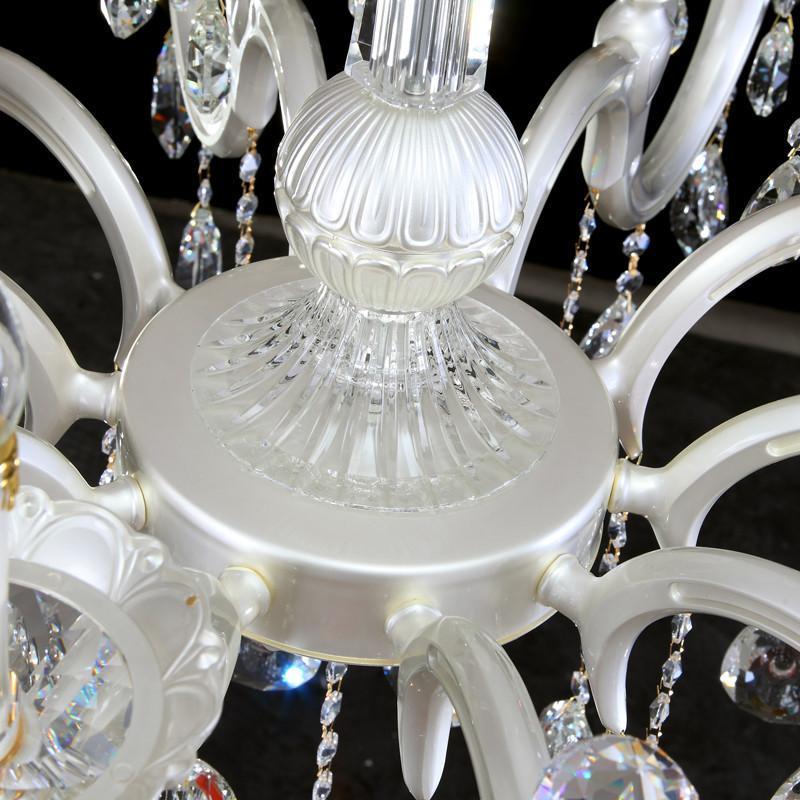 豪华进口锌合金水晶吊灯 低楼层欧式门厅餐厅水晶灯z083