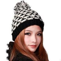 deniso秋冬女款手工编织帽子针织帽DS-1195