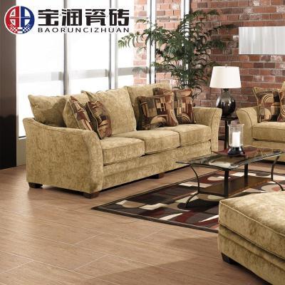 木纹砖地砖防滑客厅卧室仿木地板砖哑光