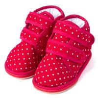 0-3岁宝宝冬季棉鞋婴幼儿童手工布鞋 学步鞋 L