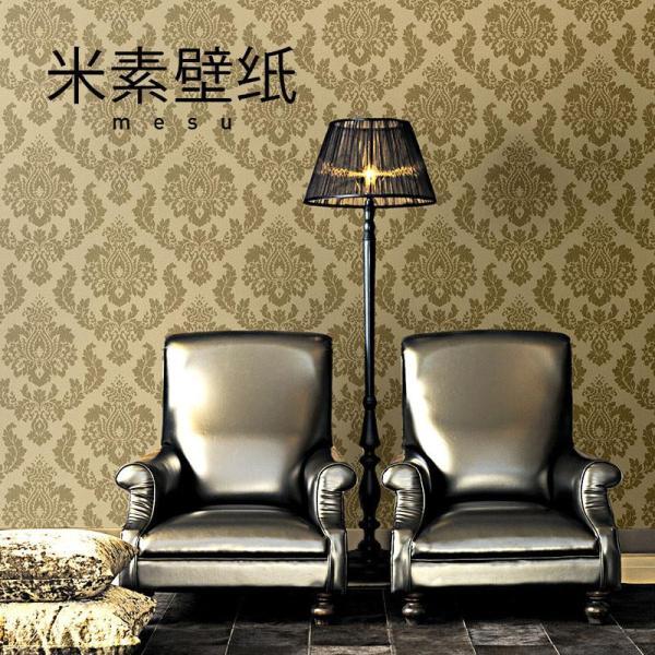 【米素旗舰店墙纸/墙布】t米素欧式复古服装店墙纸
