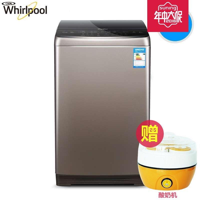 惠而浦(Whirlpool)WB80806BV 8公斤全自动变频波轮洗衣机(惠金色)