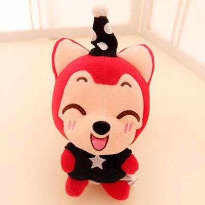 ali阿狸 梦幻魔术帽情侣卡通毛绒玩具公仔 可爱布娃娃 感动15寸38cm