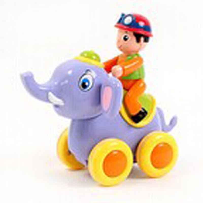 动物摇摆秀惯性玩具儿童趣味卡通动物认知早教益智玩具y7 大象