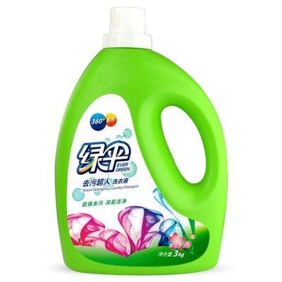 绿伞 去污超人洗衣液 3kg 熏衣芳菲香型