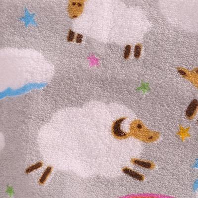 纯棉毛巾可爱小羊图案洗脸毛巾单条装
